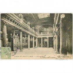 carte postale ancienne MONACO MONTE CARLO. Atrium du Casino 1905
