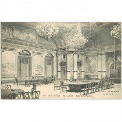 carte postale ancienne MONACO MONTE CARLO. Casino Salle Roulette
