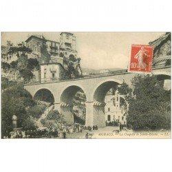 carte postale ancienne MONACO MONTE CARLO. Chapelle Sainte Dévote