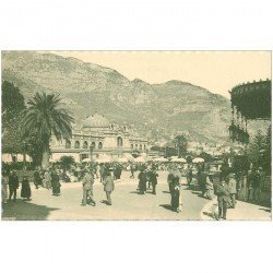 carte postale ancienne MONACO MONTE CARLO. Coffe House of Paris
