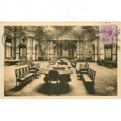 carte postale ancienne MONACO MONTE CARLO. La Roulette Salle de Jeux 1934