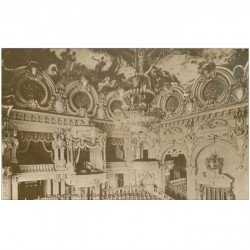 carte postale ancienne MONACO MONTE CARLO. La Salle du Thétre