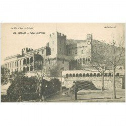 carte postale ancienne MONACO MONTE CARLO. Palais du Prince