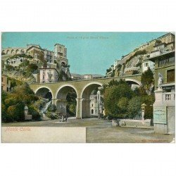 carte postale ancienne MONACO MONTE CARLO. Ravin Eglise Sainte Dévote vers 1900