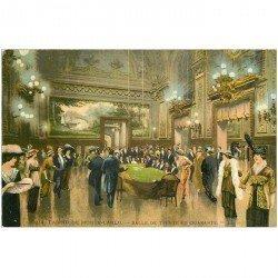 carte postale ancienne MONACO MONTE CARLO. Salle Trente et Quarante Casino