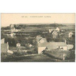carte postale ancienne 14 SAINT-LAURENT. Les Moulins 1924