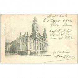 carte postale ancienne MONACO MONTE CARLO. Terrasse Casino 1902