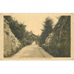 carte postale ancienne PAYS BAS HOLLANDE. Maastricht Wilhelminawey met Chlet op de St. Pietersberg 1912