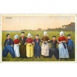 carte postale ancienne PAYS BAS HOLLANDE. Volendam