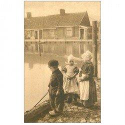 carte postale ancienne PAYS BAS HOLLANDE. Volendammer Kinderen
