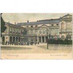 carte postale ancienne PAYS BAS. Gravenhage vers 1900. Het Koninklijk Paleis