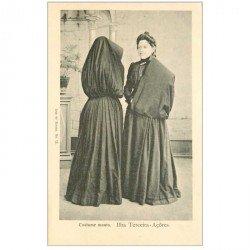 carte postale ancienne PORTUGAL. Açôres. Costume manto Ilha Terceira
