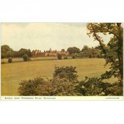 carte postale ancienne ANGLETERRE ENGLAND. Knole from tonbridge Road Sevenoaks