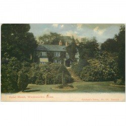 carte postale ancienne ANGLETERRE ENGLAND. Rydal Mount Worsworth's Home