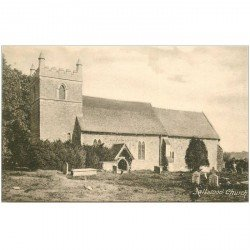 carte postale ancienne ANGLETERRE ENGLAND. Saltwood Church