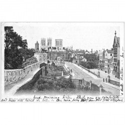carte postale ancienne ANGLETERRE ENGLAND. York from the City Walls 1903