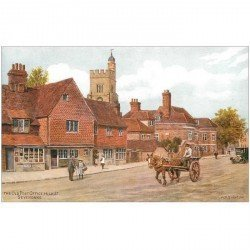 carte postale ancienne ANGLETERRE. Arquinton the Old Post Office High St Sevenoaks