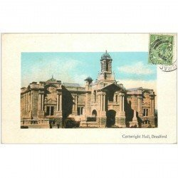 carte postale ancienne ENGLAND. Bradford Cartwright Hall 1919