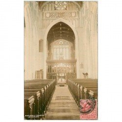 carte postale ancienne ENGLAND. Burwell Church 1908