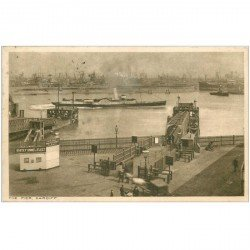 carte postale ancienne ENGLAND. Cardiff the Pier 1921