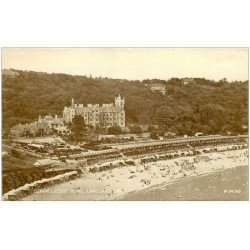 carte postale ancienne ENGLAND. Convalescent Home Langland Bay