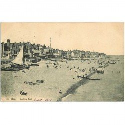carte postale ancienne ENGLAND. Deal Looking East 1912