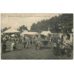 14 SOUMONT SAINT-QUENTIN. Fêtes de la Pentecôte sur Mont Joly. Roulottes de Tziganes et Buvette. Gendarmes