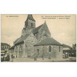 carte postale ancienne 14 THURY-HARCOURT. Abside de l'Eglise