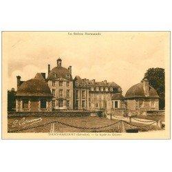 carte postale ancienne 14 THURY-HARCOURT. Façade du Château