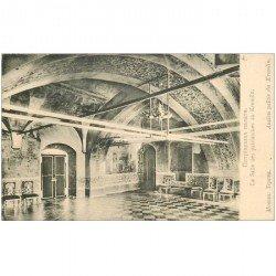 carte postale ancienne RUSSIE. Moscou Salle des Patriarches au Kremlin vers 1900