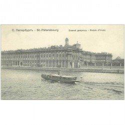 carte postale ancienne RUSSIE. Saint Pétersbourg. Palais d'Hiver
