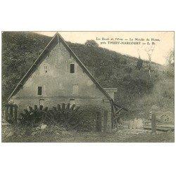 carte postale ancienne 14 THURY-HARCOURT. Le Moulin du Home 1907
