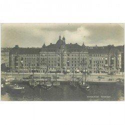 carte postale ancienne SUEDE. Stockholm. Strandwägen