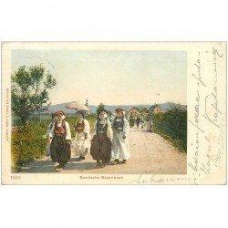 carte postale ancienne BOSNIE. Bosnische Bäuerinnen 1903