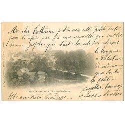 carte postale ancienne 14 THURY-HARCOURT. Vue générale 1903
