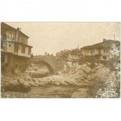 carte postale ancienne BULGARIE. Gabrovo. Un Vieux Pont. Quelques blancs de frottage...