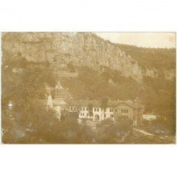 carte postale ancienne BULGARIE. MACEDOINE. Carte photo Couvent Drenowo