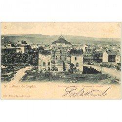 carte postale ancienne BULGARIE. Sofia Sophia 1913