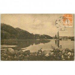 carte postale ancienne DANEMARK. 1921 Agtrupvig ved Kolding Fjord Eneret