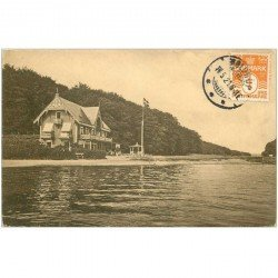 carte postale ancienne DANEMARK. 1921 Faene Badehotel Eneret