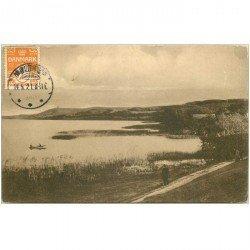 carte postale ancienne DANEMARK. 1921 Himmelbjerget set fra Svejbaek