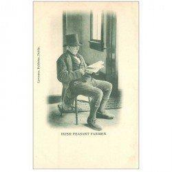 carte postale ancienne IRLANDE. Irich Peasant Farmer. Impeccable et vierge