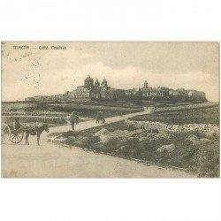 carte postale ancienne MALTE MALTA. Città Vecchia 1915 attelage ne