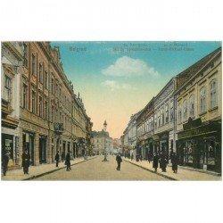 carte postale ancienne SERBIE. Belgrad. Fürst Michael Gasse 1919