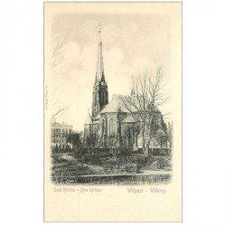 carte postale ancienne FINLANDE. Wiipuri Wilborg. Ausi Kirkko Nya kyrkan vers 1900