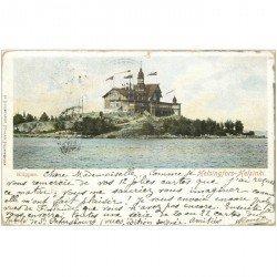 carte postale ancienne NORVEGE. Klippan Helsingfors Helsinki 1903