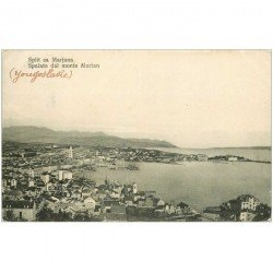 carte postale ancienne CROATIE. Split sa Marjana 1911