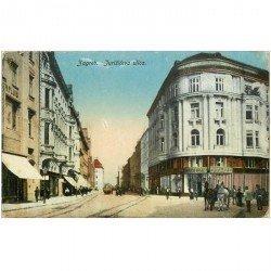carte postale ancienne CROATIE. Zagreb Jurisceva ulica