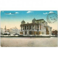 carte postale ancienne CROATIE. Zagreb Kazaliste 1949