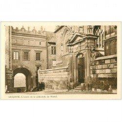 carte postale ancienne POLOGNE POLAND. Krakow Cracovie. Cathedral Wawel